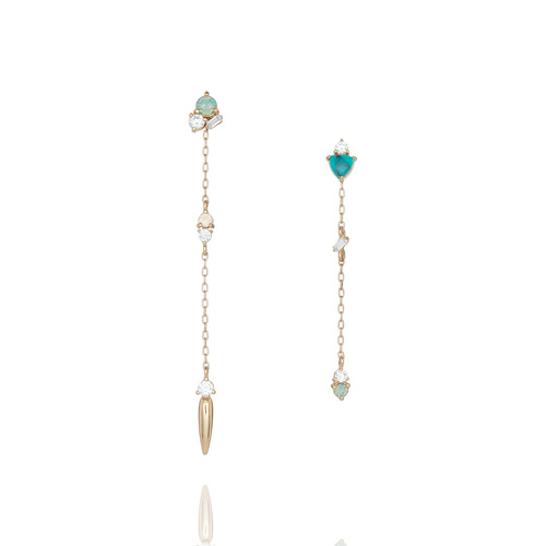 ci mismatched earrings