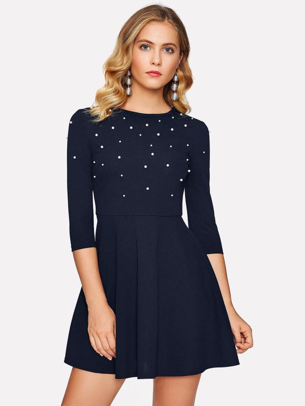 shein pearl dress